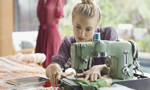 When Poppy met Daisy: Four-Hour Introduction to Sewing and Basic Alterations Class For One or Two with When Poppy Met Daisy (Up to 50% Off)