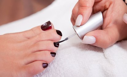OPI or Shellac Gel Manicure, Pedicure or Both at Manilux (Up to 71% Off)