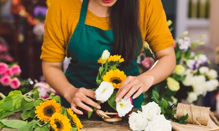 Curso online de floristería por 19,95 € en MSH Formación