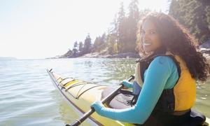 Entrena Deporte AD: Ruta en kayak para 2 o 4 personas en Cabo de Palos desde 14,95 € en Entrena Deporte AD