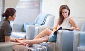 LaChristine: 60 Min. Fußpflege mit Fußbad und Fußmassage, opt. mit Paraffinbad, für 1 Person bei LaChristine (bis zu 51% sparen*)