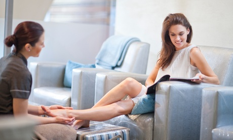 One Classic, Deluxe, or King or Queen Pedicure at Head 2 Toe Hair Nail Spa (Up to 47% Off) 89e3a40a-fea3-4996-9dcb-11f2ccf9891e