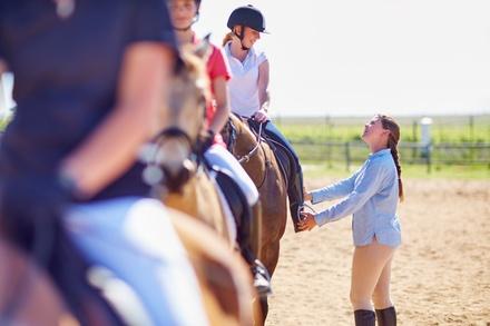 Deal Attività per Bambini Groupon.it 3 lezioni di equitazione