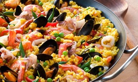 Menu di pesce con dolce e vino a 34,90euro