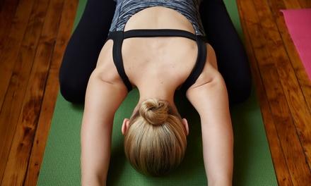 5 or 10 Yoga Classes at Drishti Yoga (Up to 74% Off)