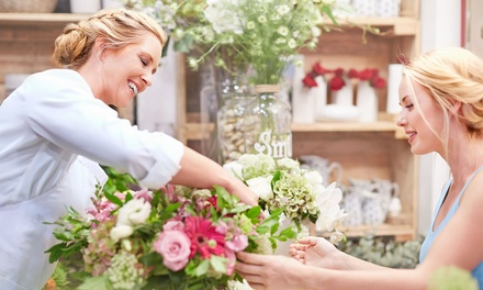 $55 Off $100 Worth of Floral Arrangement Services