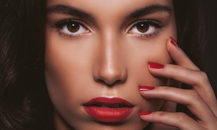 Gel Manicure or Pedicure or Both at Beauty Lounge