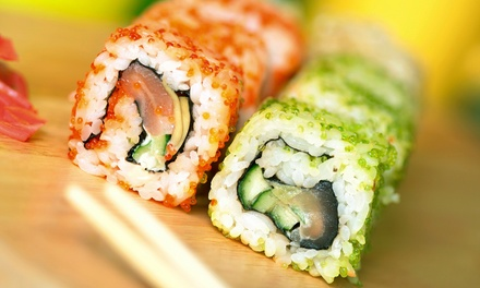 Japanese Food for Dinner at Hana Saki Steak House (43% Off). Two Options Available.