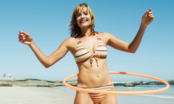 Cindy Huston - Ganesha Yoga and Adventures in Fitness: 5 or 10 Hula-Hooping from Cindy Huston (Up to 58% Off)