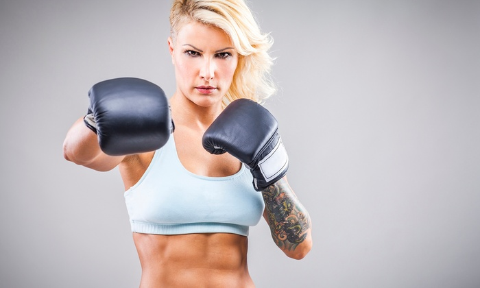 Thrive Training Center - Bullard: Five One-Hour Sessions or One Month of Unlimited Cardio Kickboxing at Thrive Training Center (Up to 67%Off)