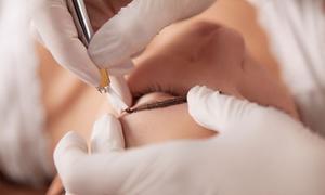 Maspa Odnowa Biologiczna: Makijaż permanentny brwi metodą microblading za 299 zł w Maspa Odnowa Biologiczna w Gliwicach (zamiast 550 zł)