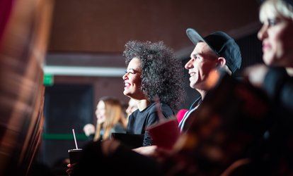 Friday Night Comedy Show for One or Two or VIP Booth for Four at Rotunda Comedy Club (Up to 55% Off)