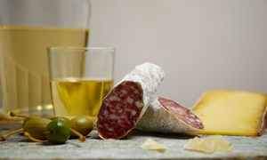 La Tavernetta Del Gusto: Aperitivo cenato con vino per 2 o 4 persone da La Tavernetta del Gusto (sconto fino a 61%)