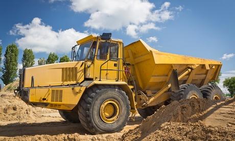 Hasta 3 cursos online de manejo de dumper, camión pluma y/o excavadora desde 9,90 € en Grupo Premium