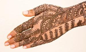 Angel's Beauty Spa: Three Eyebrow-Threading Sessions or Henna Hand Tattoo at Angel's Beauty Spa (50% Off)