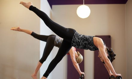Five Pilates or Ashtanga Classes for One or Two People at Dynamic Hot Yoga (Up to 64% Off)