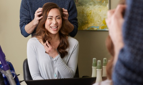 Hair Services at Voila Hair Innovations (Up to 55% Off). Three Options Available. 47bba858-1c5c-4be5-96ab-907cb6c12294