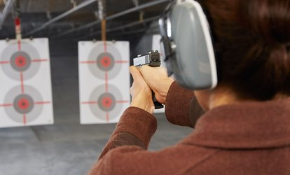 Shooting Package for Two or Four at High Noon Guns (Up to 50% Off)