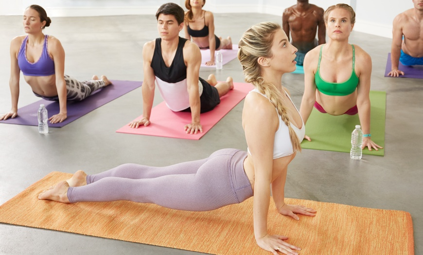 Five Hot Yoga or Hot Spin Classes - Om Ormskirk Wellbeing Centre | Groupon