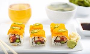 Wafu: Menu japonais complet pour 2 personnes à 24,90 € au restaurant Wafu
