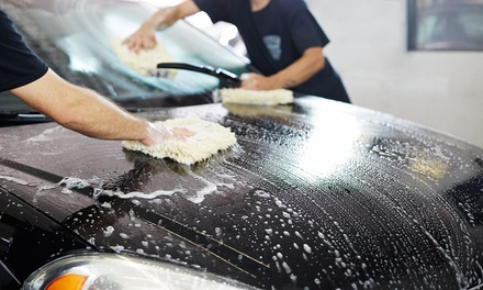 In-and-Out Car Wash ($19.90), Mini Detail ($75) or Full Detail ($149) at The Wash Depot North Fitzroy (Up to $300 Value)