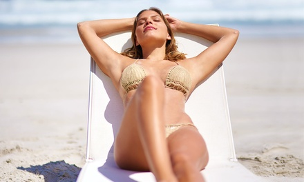 Spray Tanning: One $19 or Two Sessions $35 at Shelacque Up to $70 Value