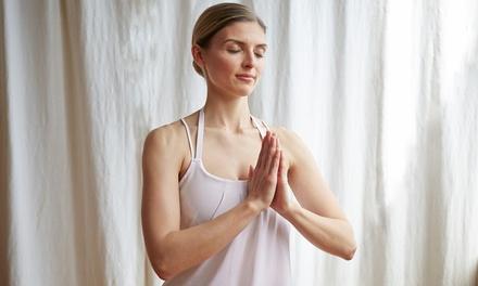 10 o 20 lezioni di yoga e meditazione