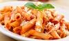 Déjeuner ou dîner italien à Saint-Nicolas