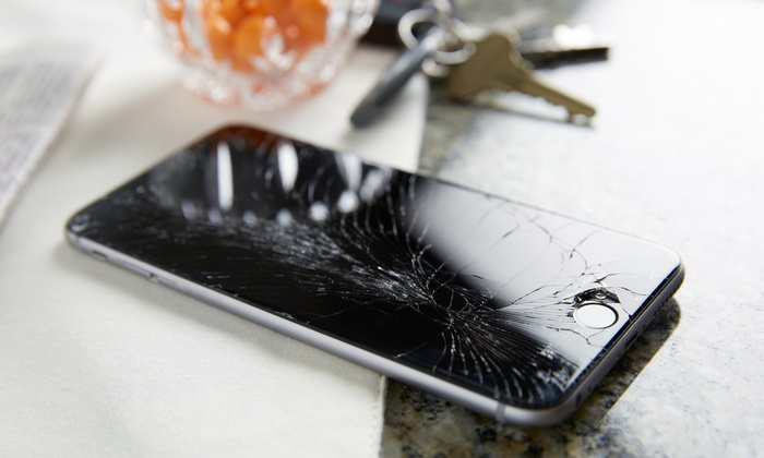 iPhone, iPad, or Galaxy Screen Repair at Cell N Trade (Up to 50% Off). Nine Options Available.