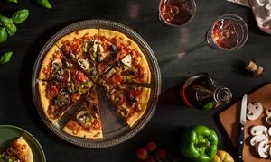 Pizzeria Mirano: Italienisches 2-Gänge-Menü mit Pizza inkl. je 1 Glas Wein für Zwei oder Vier in der Pizzeria Mirano (bis zu 37% sparen*)
