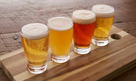 Visita a la fábrica y degustación de 4 cervezas artesanales para 2, 4, 6, 8 o 10 desde 14,90 € en Cerveza Hordago