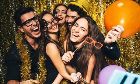 Two, Three, or Four-Hour Photo Booth Rental with Prints and Props from IPhotoBooth (Up to 85% Off) 325f25ea-45d0-40e4-878d-3a13f7cd7343