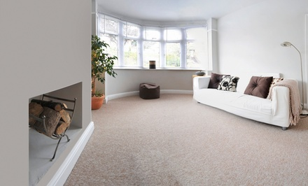 Carpet Cleaning in Up to 4 Rooms or Hardwood Cleaning on Up to 100 Sq Ft from The Clean Machine (Up to 58% Off)