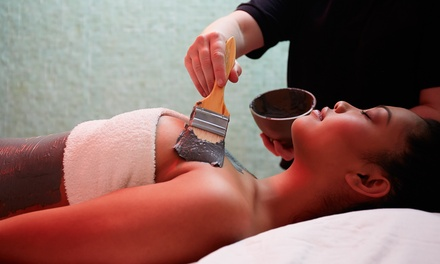 C$99 for Spa Package with Body Wrap, Facial, and Massage at Off Whyte Skin Care Studio (C$215Value)