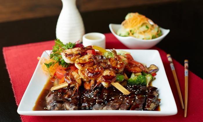 Sakura Japanese Restaurant - Gastonia: Sushi and Japanese Cuisine for Two, Four, or More at Sakura Japanese Restaurant (40% Off)