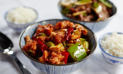 image for <strong>Chinese</strong> Cuisine at Mongolian Bar-B-Que Buffet (Up to 53% Off)