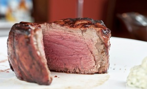 Country Club: Steak-House Cuisine at The Country Club (50% Off). Four Options Available.