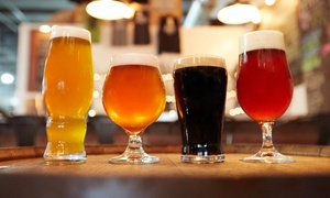 Beer and Wine Tasting Packages for Two or Four at Vine & Hops Bar (Up to 54% Off)