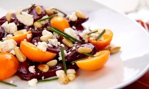 AMALFI: Ontdek een menu 100% Raw Food van 5 gangen voor 2 of 4 personen vanaf € 39,99 in het restaurant Amalfi