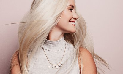 image for Wash, Cut, Blow-Dry and Conditioning Treatment with Optional Half Head Highlights at Altered Images (Up to 57% Off)