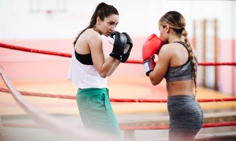 1 o 3 meses de clases colectivas de boxeo o muay thai desde 29,99 € en Usera Fight Club
