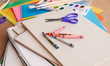 Up to Four Personalised Sketchbooks from Dinkleboo (Up to 75% Off)