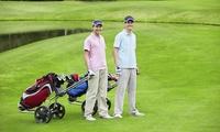 18 Holes of Golf with Meal and Drink for Up to Four with Optional Buggy Hire at Malkins Bank Golf Club (Up to 58% Off)