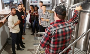 New Image Brewing Co: Brewery Tour and Tasting with Souvenir Growlers for One, Two, or Four at New Image Brewing Co (Up to 54% Off)