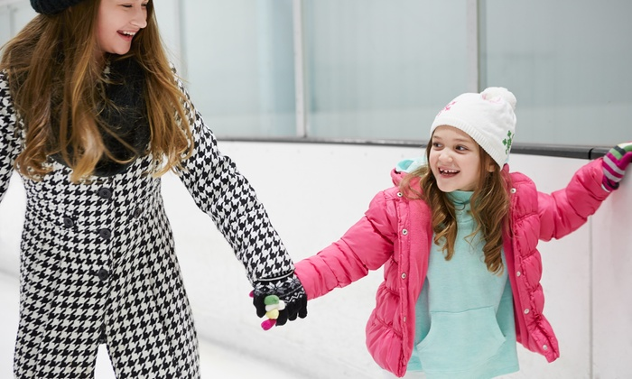 San Diego Ice Arena - San Diego Ice Arena: Public Ice-Skating Session for Two or Four with Skates at San Diego Ice Arena (61% Off)
