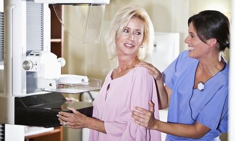 Chequeo médico femenino con mamografía digital, ecografía de mama y/o densitometría ósea desde 59,90 € en Diagnosalud