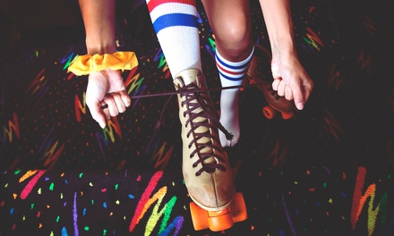Roller Skating at Kate's Skating Center (Up to 47% Off). Three Options Available.