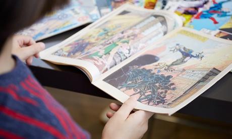 44% Off Comic Book - Hard Copy