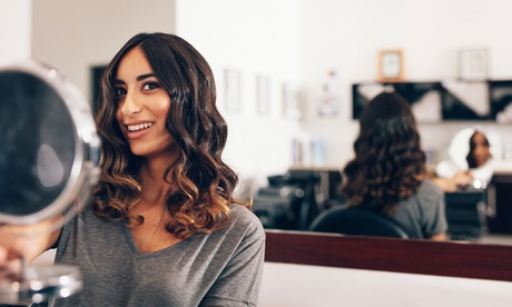 Women's Cut and Style with All-Over Color or Partial or Full Highlights at styleFX Hair Studio (Up to 62% Off)