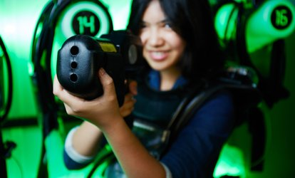 Power Play Weekend Unlimited <strong>Laser Tag</strong> for One or Two at Ultrazone Loudoun (Up to 29% Off)